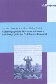 Cover of: Autobiographical practices in Russia =