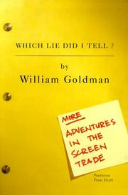 Cover of: Which lie did I tell?