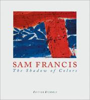 Cover of: Sam Francis: the shadow of colours