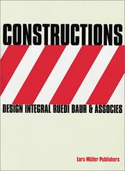 Cover of: Constructions | Lars Muller