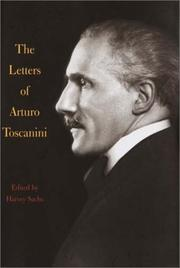 Cover of: The Letters of Arturo Toscanini