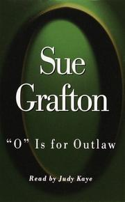"Cover of: ""O"" Is for Outlaw (Sue Grafton)"
