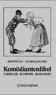 Cover of: Komödiantenfibel