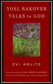 Cover of: Yosl Rakover Talks to God | Zvi Kolitz