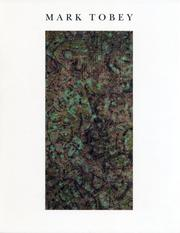 Mark Tobey by Tobey, Mark.