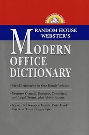Cover of: Random House Webster