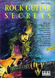 Cover of: Rock Guitar Secrets | Peter Fischer