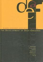 The Development of Deaf Children