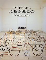 Cover of: Raffael Rheinsberg