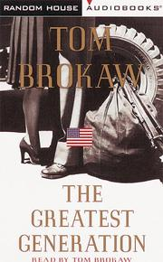 Cover of: The Greatest Generation (Tom Brokaw)