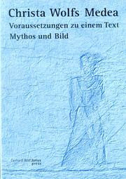 Cover of: Christa Wolfs Medea