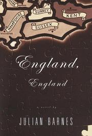 Cover of: England, England | Julian Barnes