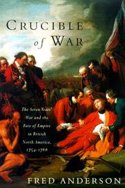 Cover of: Crucible of war | Anderson, Fred