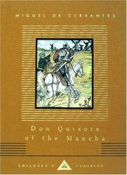 Cover of: Don Quixote of the Mancha