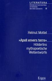 Cover of: Apoll envers terre