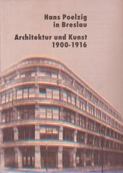 Cover of: Hans Poelzig in Breslau