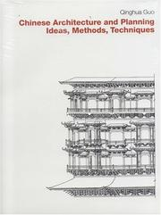 Cover of: Chinese Architecture and Planning