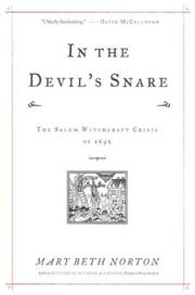 Cover of: In the Devil's Snare: The Salem Witchcraft Crisis of 1692