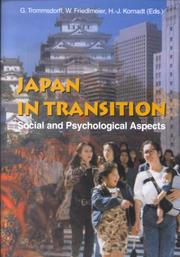 Cover of: Japan in transition |