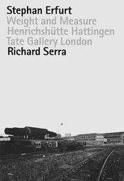 Cover of: Stephan Erfurt & Richard Serra | Richard Serra