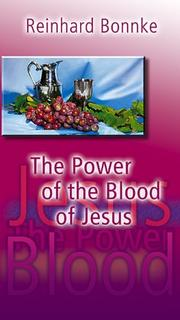 Cover of: The Power of the Blood of Jesus