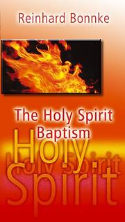 Cover of: The Holy Spirit Baptism
