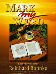 Cover of: Mark My Word