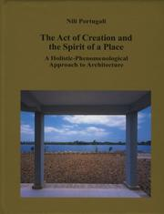 Cover of: The Act of Creation and the Spirit of a Place