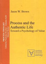 Cover of: Process and the Authentic Life