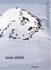 Cover of: Sven Drühl