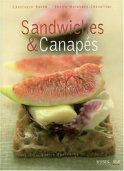 Cover of: Sandwiches And Canapes | C. Bord