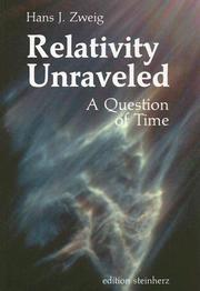 Cover of: Relativity Unraveled