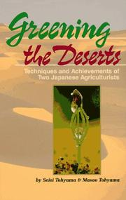 Cover of: Greening the deserts