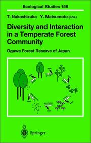 Cover of: Diversity and Interaction in a Temperate Forest Community |