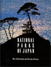Cover of: National parks of Japan