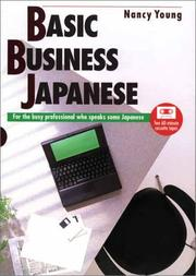 Cover of: Basic Business Japanese