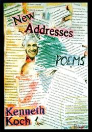 Cover of: New addresses