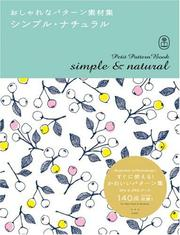 Cover of: Petite Pattern Book - Simple & Natural