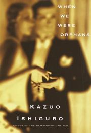 Cover of: When we were orphans