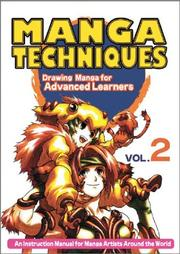 Cover of: Manga Techniques Volume 2 | Various