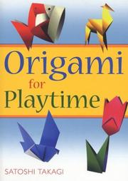 Cover of: Origami for Playtime