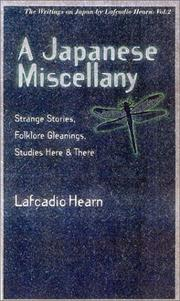 A Japanese miscellany by Lafcadio Hearn