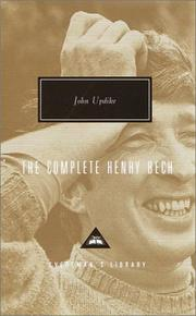 Cover of: The Complete Henry Bech: twenty stories
