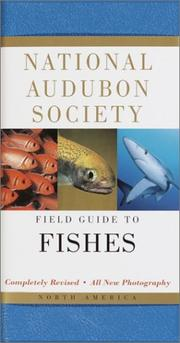 Cover of: National Audubon Society Field Guide to North American Fishes