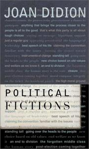 Cover of: Political fictions