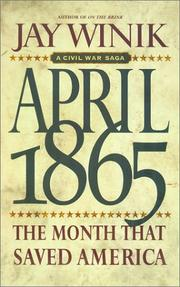 Cover of: April 1865
