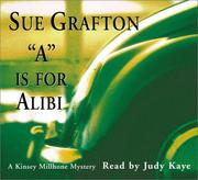 Cover of: A is for Alibi (Sue Grafton)