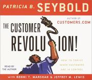 Cover of: The Customer Revolution