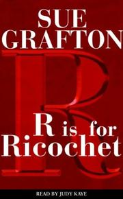 Cover of: R is for Ricochet (Sue Grafton)