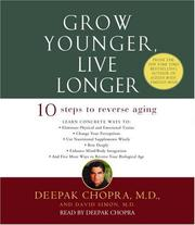 Cover of: Grow Younger, Live Longer